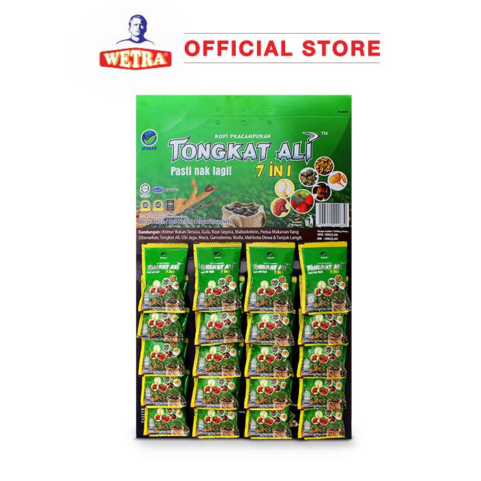 Kopi Pracampuran Tongkat Ali 7 in 1 (Card)