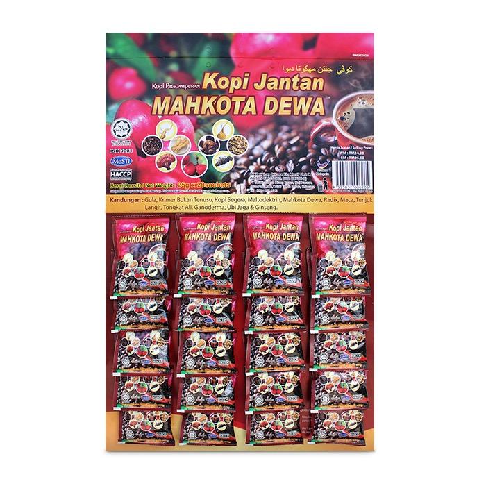 Kopi Jantan Mahkota Dewa (Card)