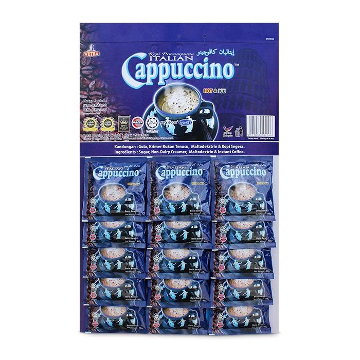 Kopi Pracampuran Italian Cappuccino (Card)