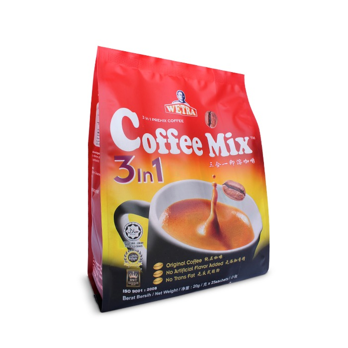 Coffee Mix 3 in 1 (Packet)