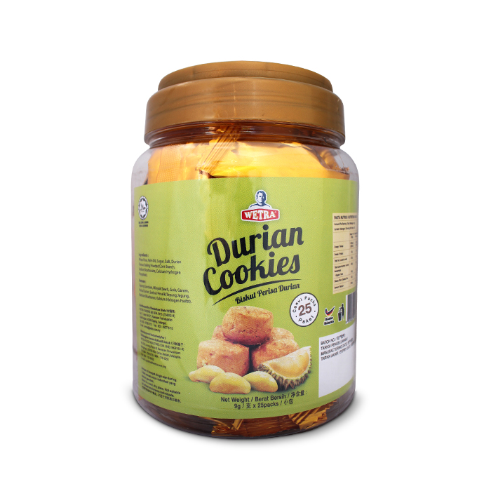 Durian Cookies (Jar)