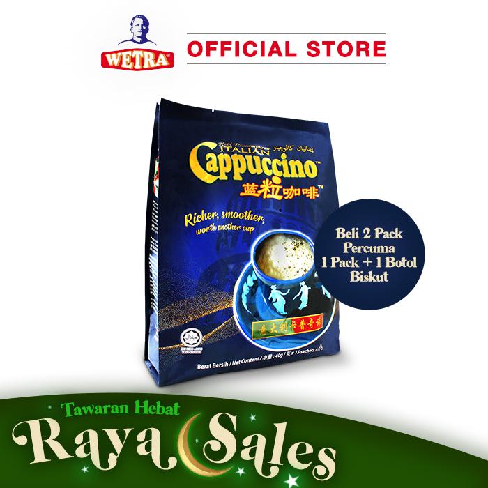 Kopi Pracampuran Italian Cappuccino (Pack)